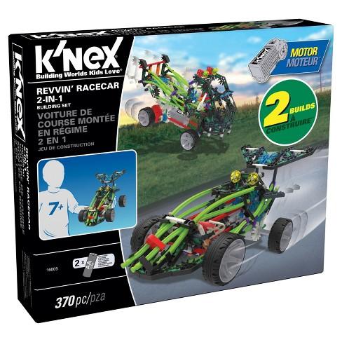 K'Nex Revvin' Race Car 2-in-1 Building Set