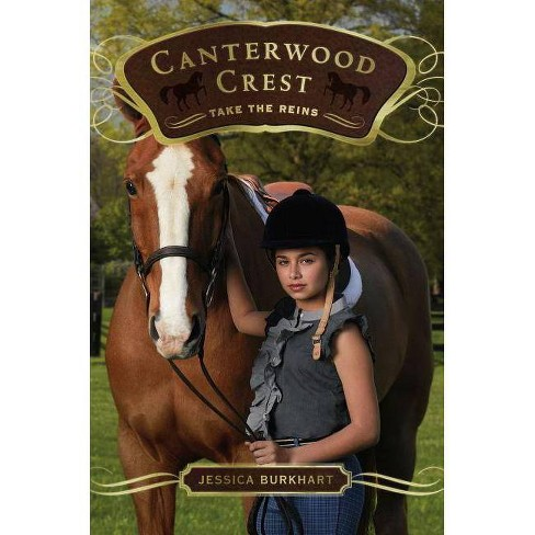 Take the Reins - (Canterwood Crest) by  Jessica Burkhart (Paperback) - image 1 of 1