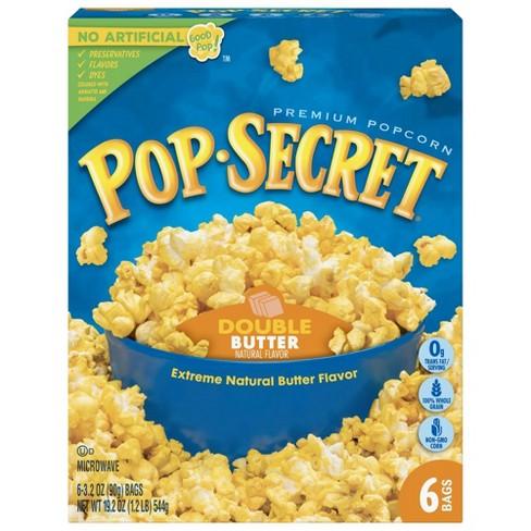 Pop Secret Double Butter Microwave Popcorn - 6ct - image 1 of 4