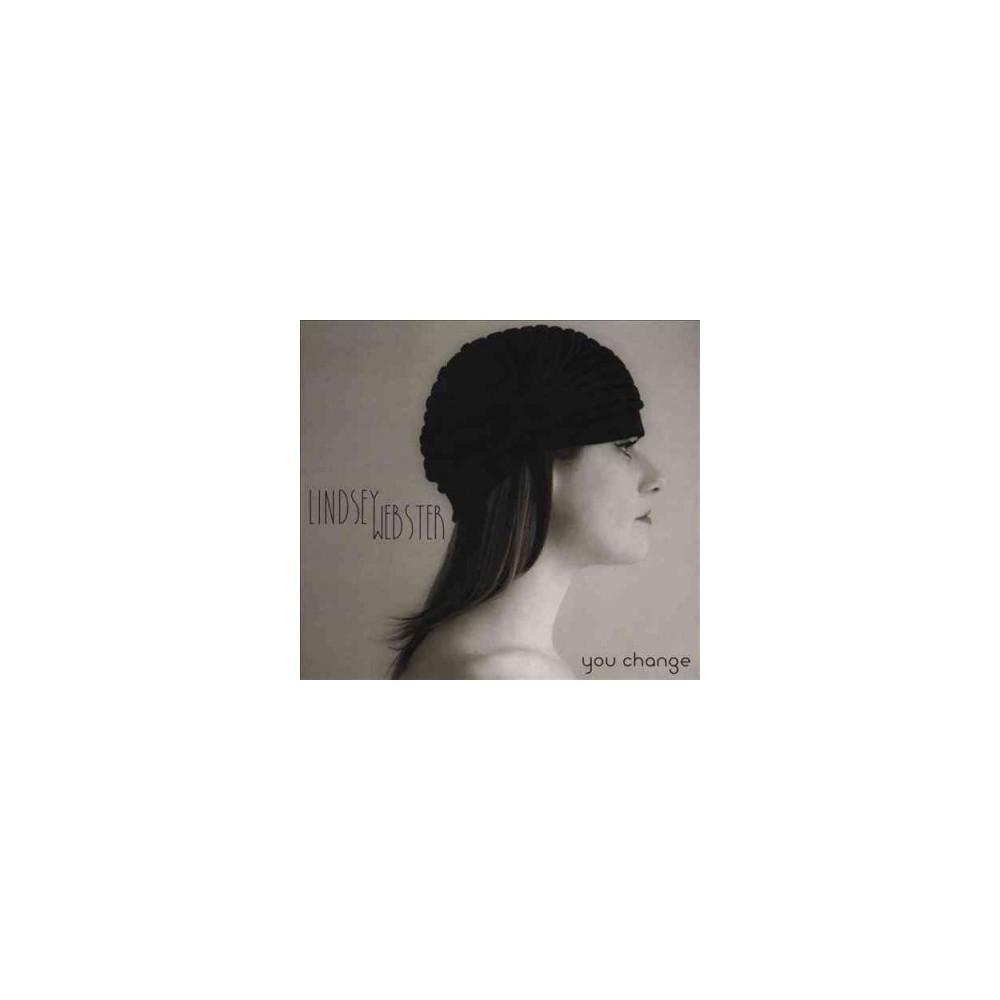 Lindsey Webster - You Change (CD)