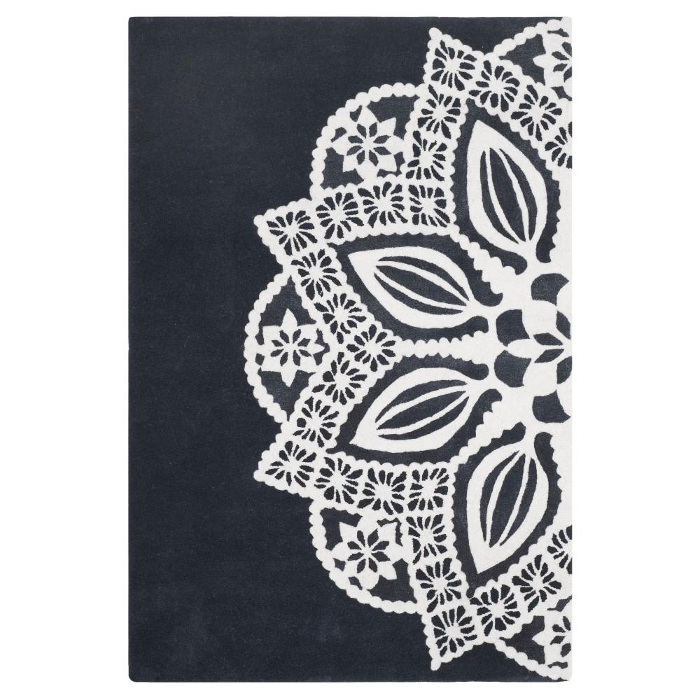 Allure Rug - Gray/Ivory - (4'X6') - Safavieh