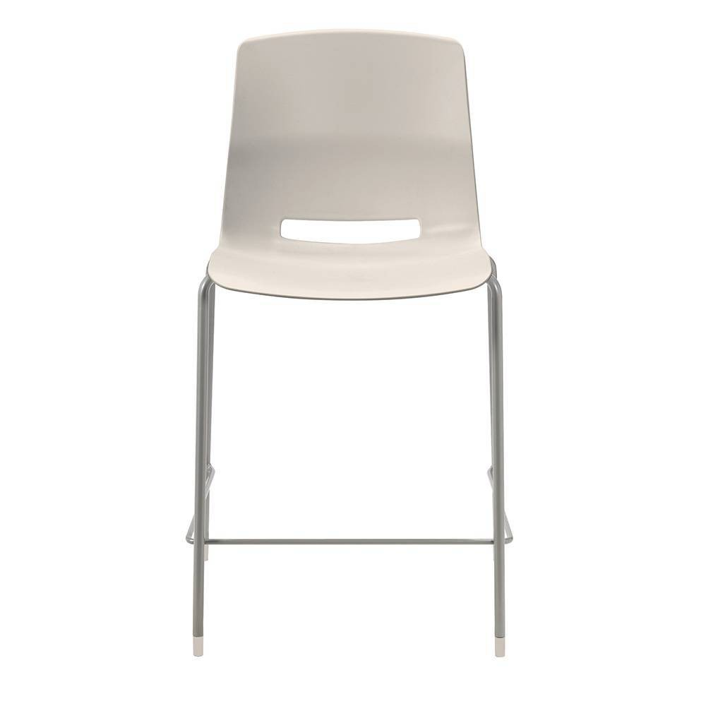"""Image of """"25"""""""" Lola Stacking Office Stool Off White - Olio Designs"""""""