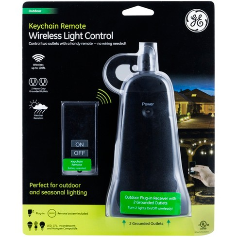 Ge Wireless Light Control With Keychain Remote Target