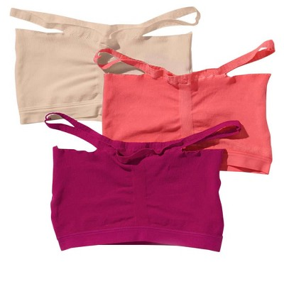 Leonisa Comfortable Wireless Bralette 3-Pack