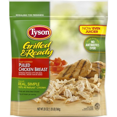 Tyson Grilled & Ready Pulled Chicken - Frozen - 20oz