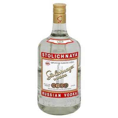Stolichnaya Vodka - 1.75L Bottle