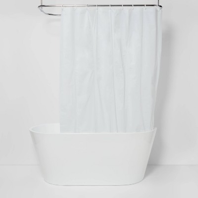 Solid Super Soft PEVA Shower Liner White - Room Essentials™