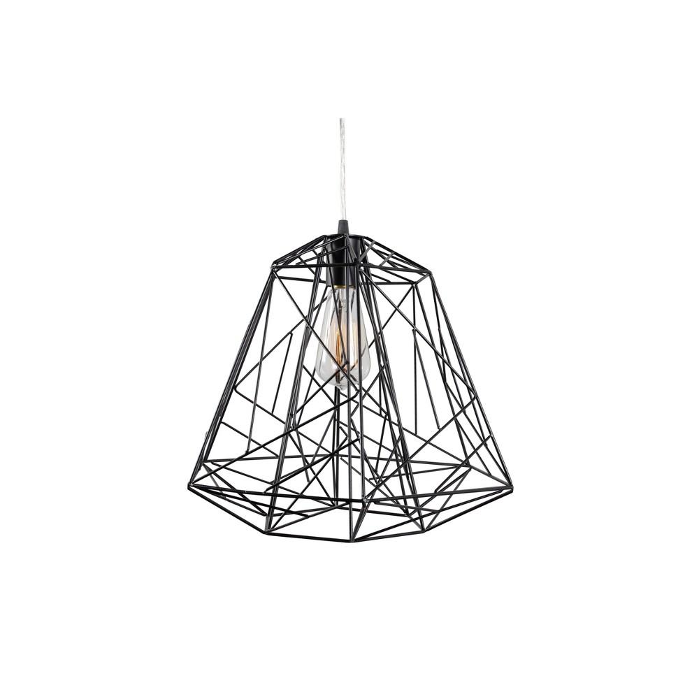 Image of The Wright Stuff 1 Light Pendant - Black