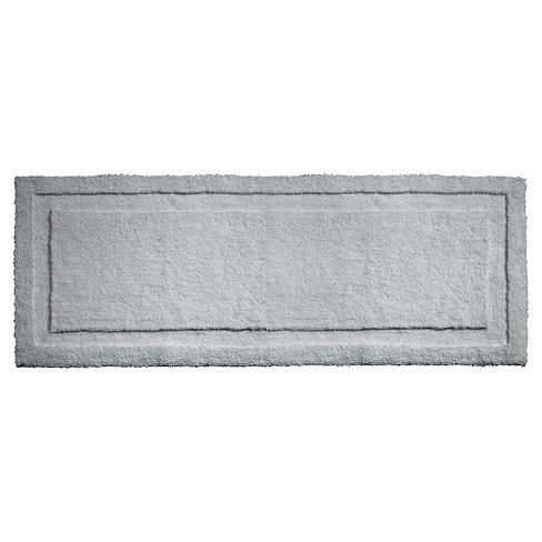 Spa Solid Bath Rug Gray - iDESIGN - image 1 of 4