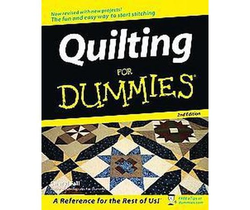 Quilting for Dummies (Revised) (Paperback) (Cheryl Fall) - image 1 of 1