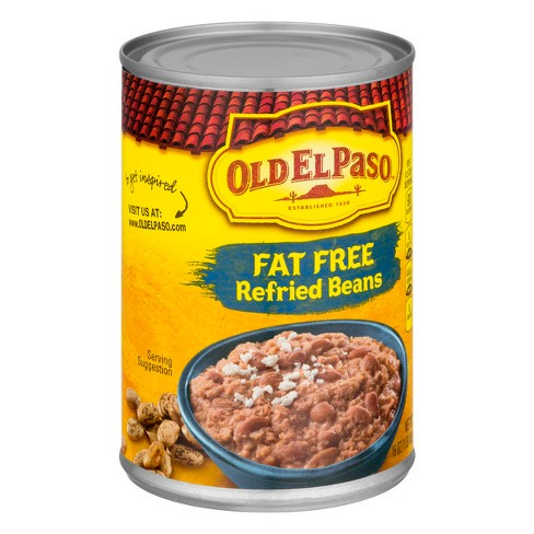 Old El Paso® Refried Beans Fat-Free 16 oz - image 1 of 3