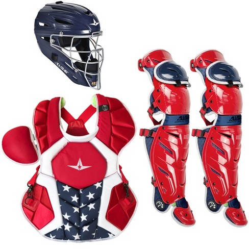All-Star System7 Axis USA NOCSAE Adult Baseball Catcher's Package - image 1 of 1