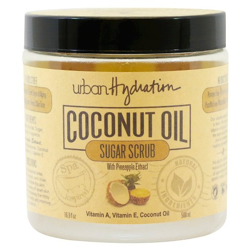 Urban Hydration Coconut Oil Pineapple Extract Sugar Scrub 16.9 oz - image 1 of 4