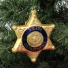 "Holiday Ornament 4.75"" Sheriff Badge Police Department Christmas  -  Tree Ornaments - image 3 of 3"