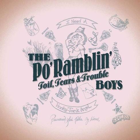 Po' Ramblin' Boys - Toil, Tears & Trouble (Vinyl) - image 1 of 1