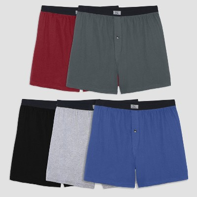 Fruit of the Loom Men's 5pk Boxers - Colors May Vary