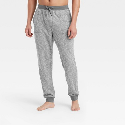 Men's Double Weave Jogger Pajama Pants - Goodfellow & Co™ Thundering Gray