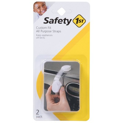 Safety 1st Custom Fit All Purpose Adjustable Strap - White (2pk)