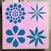 """Stencil1 Ornament Repeating - Stencil 5.75"""" x 6"""" - image 3 of 3"""