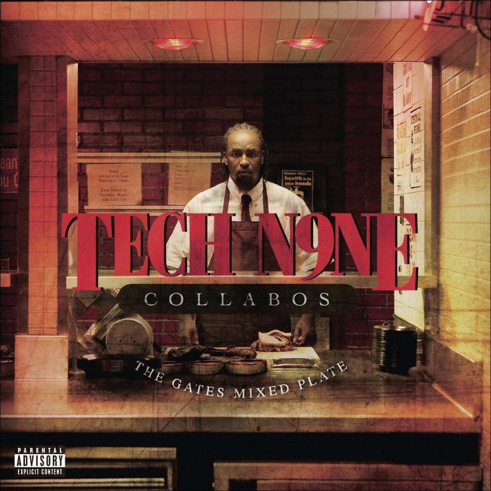 Tech N9ne Collabos - Gates Mixed Plate (CD)