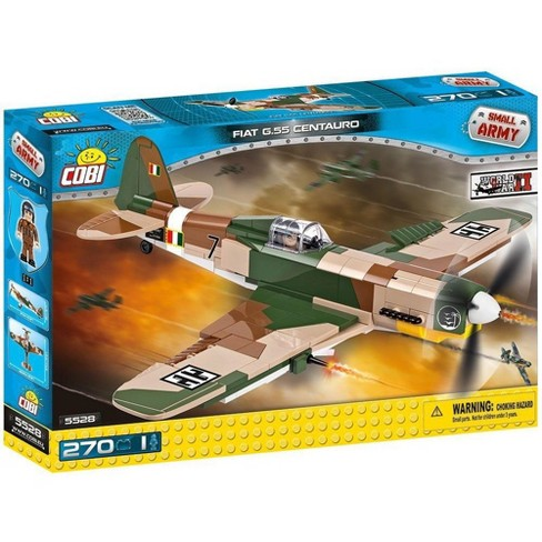 1081ae5604 Cobi Small Army Fiat G.55 Centauro Fighter Plane Building Set 270 Pcs.    Target