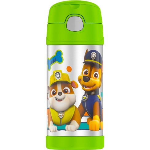 Thermos PAW Patrol 12oz FUNtainer Water Bottle - Green - image 1 of 4