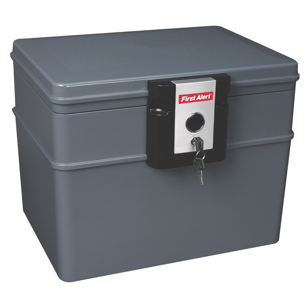 First Alert Fire and Water File Chest, 0.62 Cu. Ft., Gray
