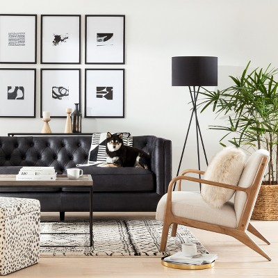 Beau Black Accent Furniture U0026 Décor Living Room Collection
