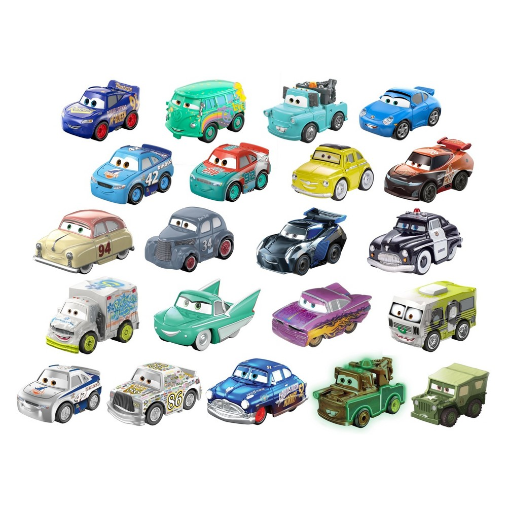 Disney Pixar Cars Mini Racers 15pk # 2