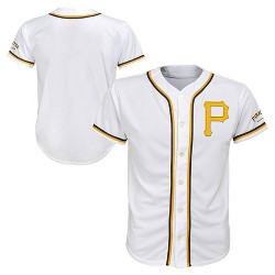 MLB Pittsburgh Pirates Boys' White Team Jersey