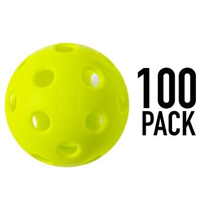 Franklin Sports 100pc X-26 Indoor Pickleballs - Optic