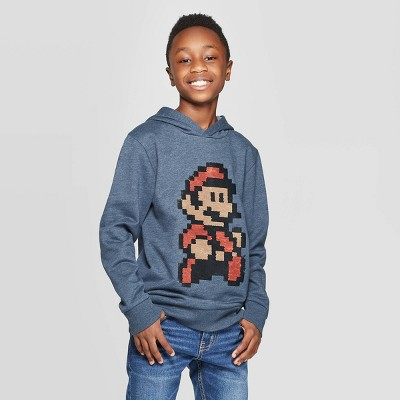 Boys' Super Mario Flip Sweatshirt   Navy by Super Mario