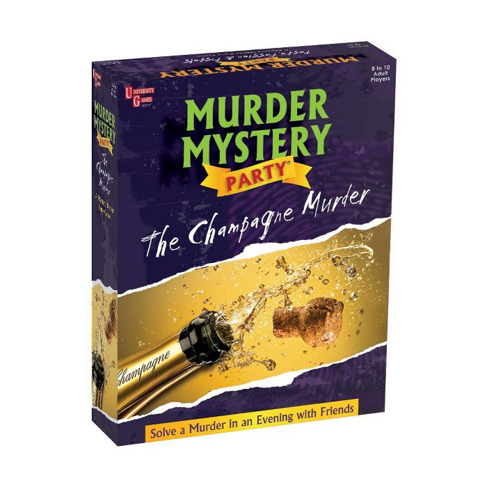 Murder Mystery Party - The Champagne Murder Game : Target