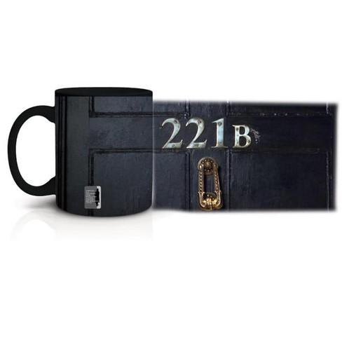 Just Funky Sherlock Holmes Sherlock Glow in the Dark 221B Mug - image 1 of 2