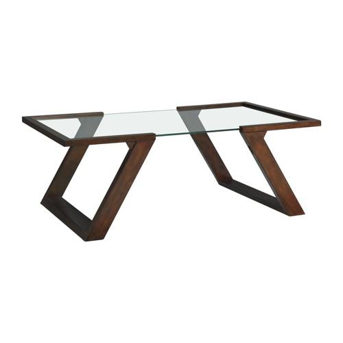 Rectangular Kai Coffee Table Dark Espresso - Picket House Furnishings