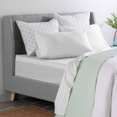 Printed Cotton Sheet Set - Martha Stewart