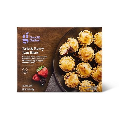 Frozen Brie and Berry Jam Bites - 4.8oz/10ct - Good & Gather™ - image 1 of 2