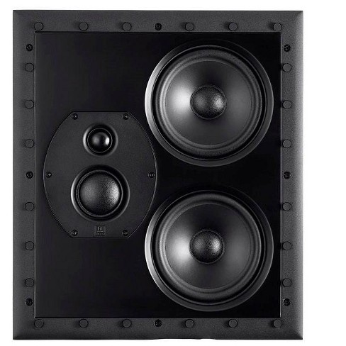 Monolith THX-LCR THX Ultra Certified 3-Way LCR In-Wall Speaker, 1in Silk Dome Tweeter With Neodymium Magnet and Copper Shorting Ring, For Home Theater - image 1 of 4