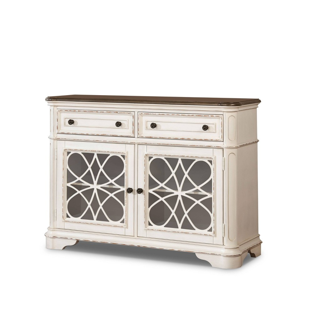 Compare Forest Glen Storage Drawers Server Walnut - HOMES: Inside + Out