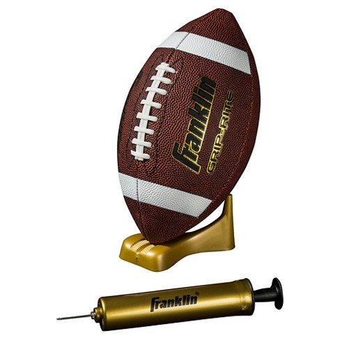 Franklin Sports Grip-Rite® Pump & Tee Football Set Junior - Brown - image 1 of 4