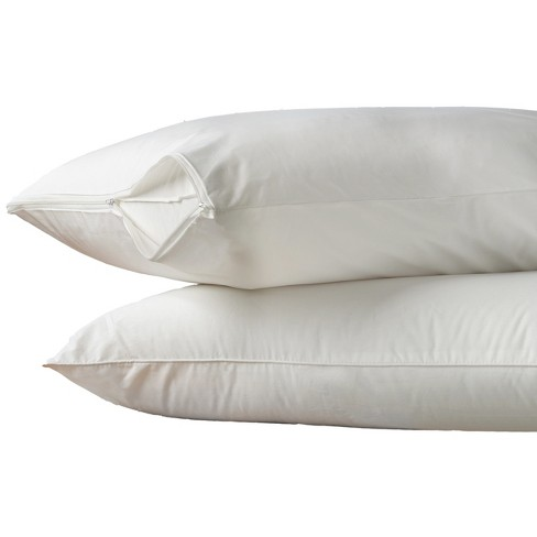 AllerEase 2-Pack Hot Water Washable Pillow Protector - image 1 of 3