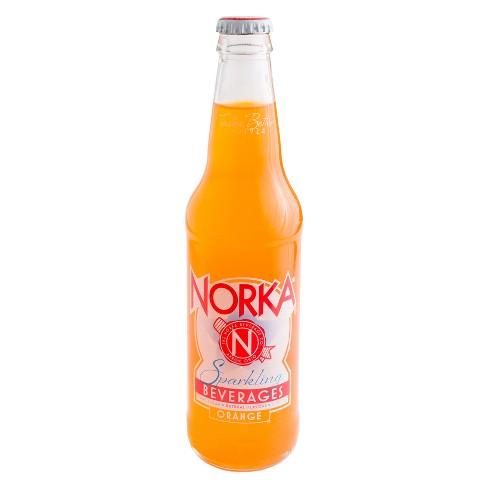 NORKA Orange - 4pk/12 fl oz Glass Bottles - image 1 of 1