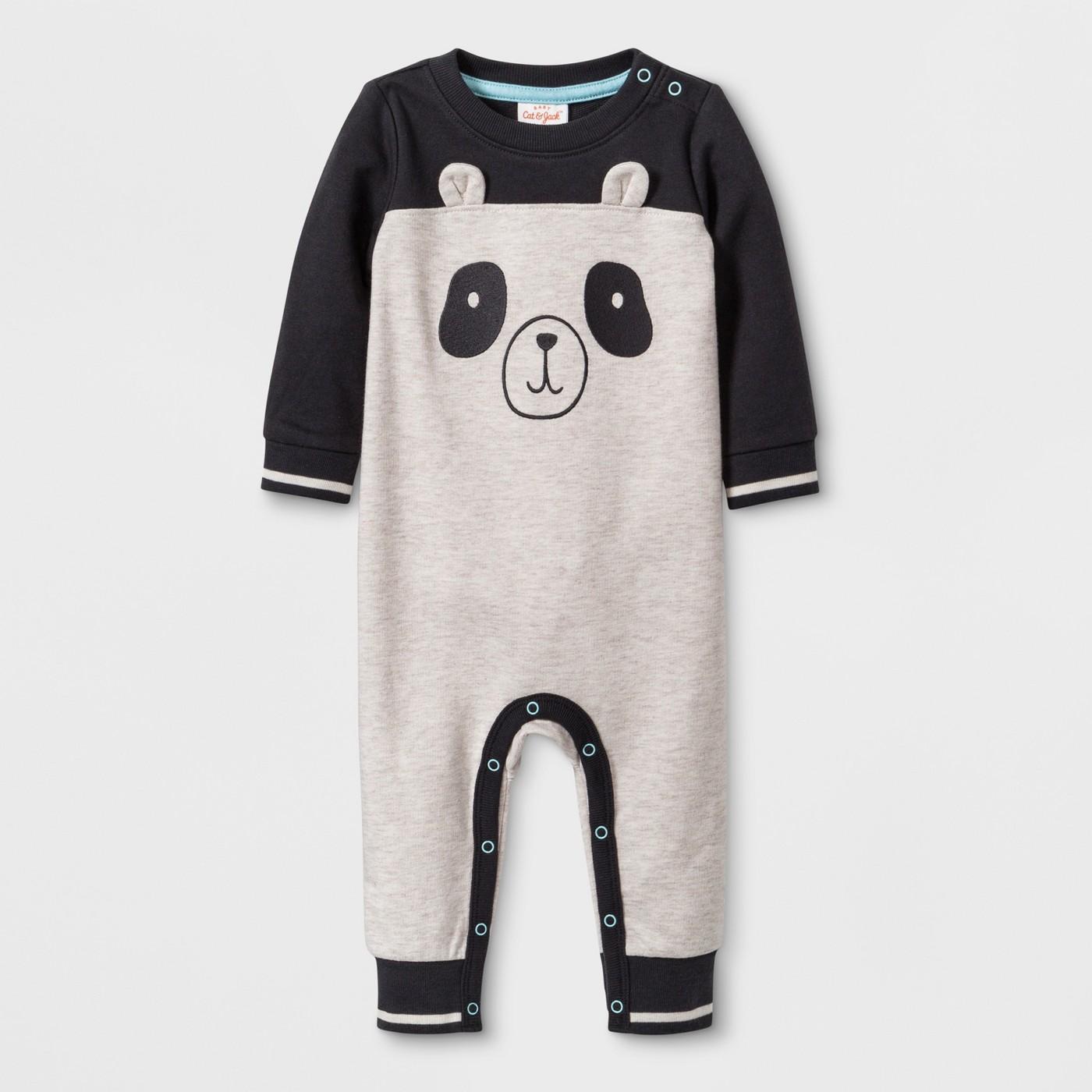 Baby Romper Panda Face