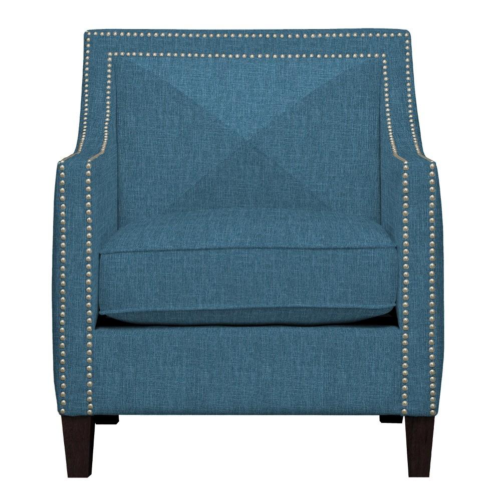 Ruben Arm Chair Blue - Handy Living