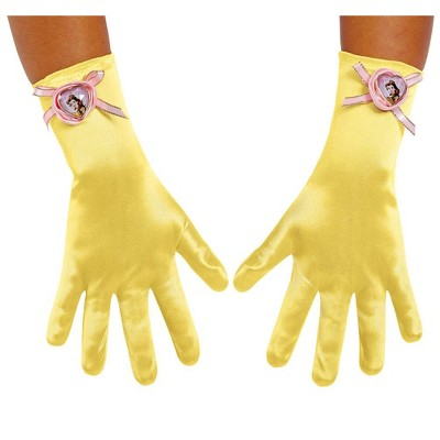 Gloves Tiara Revolution Belle Be Our Guest Style 458 Yellow Med Child Inclued