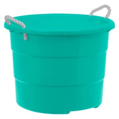 Plastic Large Rope Tub 18gal - Green