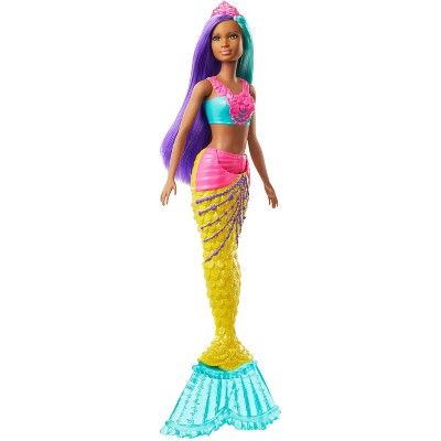 Barbie Dreamtopia Mermaid Doll - Teal and Purple Hair