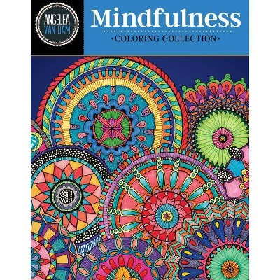 Hello Angel Mindfulness Coloring Collection - by Angelea Van Dam (Paperback)