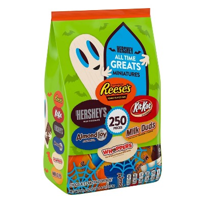 All Time Greats Halloween Minis Mix Variety Pack - 81.4oz/250ct