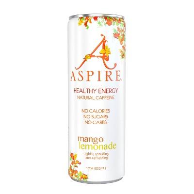 Aspire Mango Lemonade Energy Drink - 12oz Can